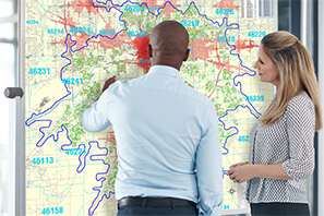 Get Maps for All of Your Locations & Market Areas