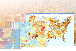 Find New Markets with Demographic Maps