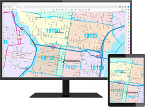 Olathe City Wall Map Color Cast Digital Map