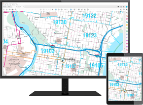 Olathe City Wall Map Premium Digital Map